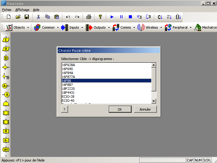 ii d233couverte du logiciel flowcode